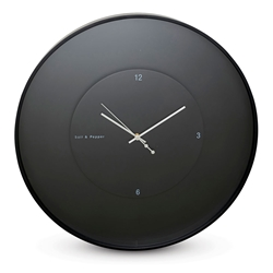 ZONE Floating Clock Large - Black