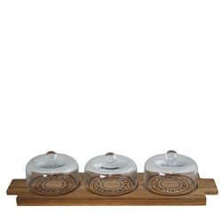 FROMAGE Board With Three Domes