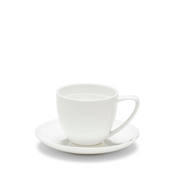 EDGE Espresso Cup and Saucer