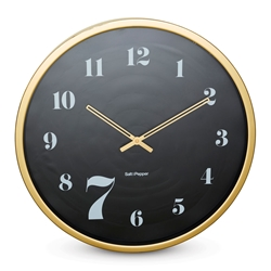 ZONE Wall Clock - Gold