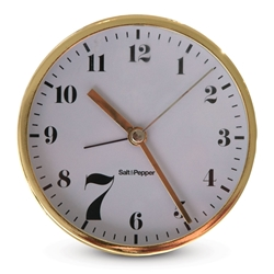 ZONE Round Desk Clock - Gold