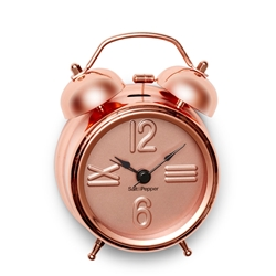 Zone Wall Clock Rose Gold And Marble Clocks Salt And