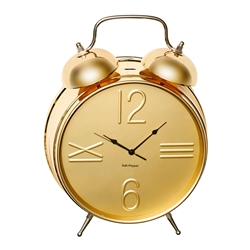 ZONE Alarm Clock Large - Gold