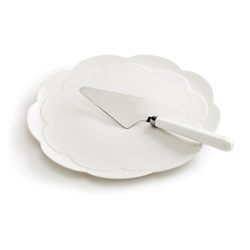 PETAL Cake Plate with Server