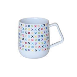 STUDIO Coffee Mug - Multi Cross