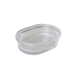 SUDS Soap Dish - Clear Glass