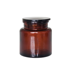 SUDS Canister - Brown Glass