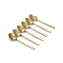 HOST Teaspoons - Set of 6 - Gold