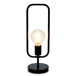 CLEVELAND Table Lamp - Black with Marble Base