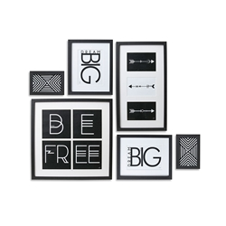 FOCUS Frame - Set of 6 - Black