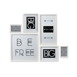 FOCUS Frame - Set of 6 - White