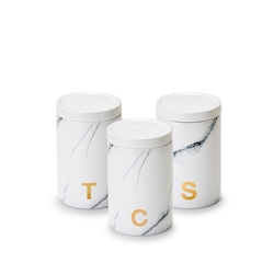 MARBLE Canisters - Set of 3