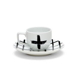 PAINT Espresso Cup and Saucer