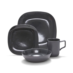 SHADE Dinner Set - 16pc - Charcoal