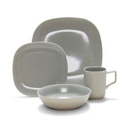 SHADE Dinner Set - 16pc - Grey