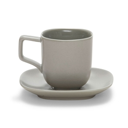 SHADE Espresso Cup and Saucer - Grey