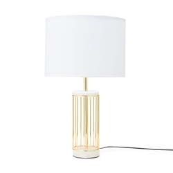 HAMPTON Table Lamp - White