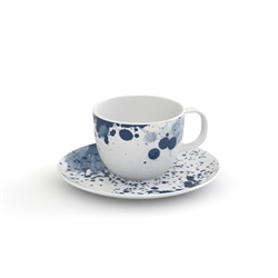 POLLOCK  Espresso Cup and Saucer