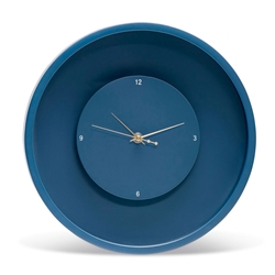 ZONE Floating Wall Clock - Small - Blue