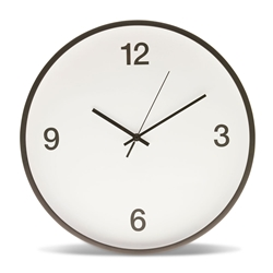 MARCEL Wall Clock - White