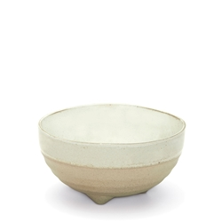 NOMAD Bowl - Footed - White