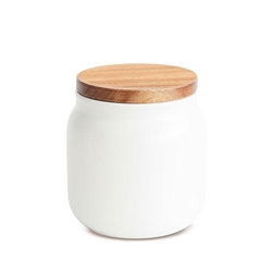 HUDSON Canister - Small - White