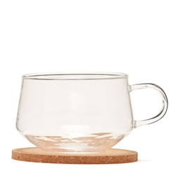 CANTEEN Tea Cup and Coaster - Set of 2 - Glass