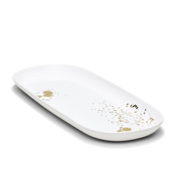 POLLOCK Rectangle Platter - Gold