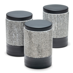 RAWW Canister  - Set of 3 - Black