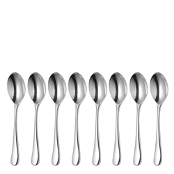 Robert Welch RADFORD Bright Coffee Spoon - Set of 8