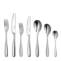 Robert Welch STANTON Bright Cutlery Set - 56 Piece