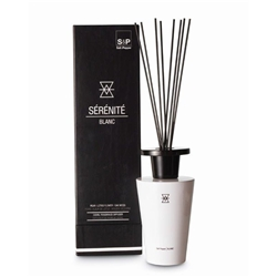 SERENITE  BLANC Diffuser -  Pear, Lotus Flower & Oak Moss - Small