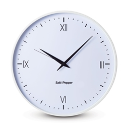 PRAHRAN Wall Clock - White