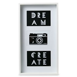 IMAGE Frame - 3 Windows - Large - White