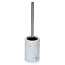 SUDS Toilet Brush - White Marble