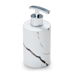 SUDS Soap Dispenser - White Marble