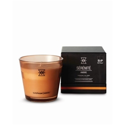 SERENITE  AMBRE Candle - Frankincense, Tolu & Amber - Small