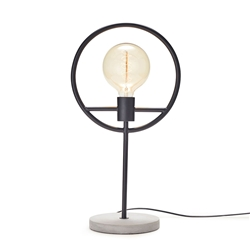GEORGIA Table Lamp - Black