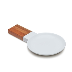HUDSON Spoon Rest - White