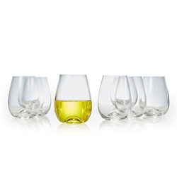 POLO Stemless Wine Glass - Set of 8