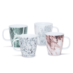 MASONRY Mugs -Set of 4 - Assorted