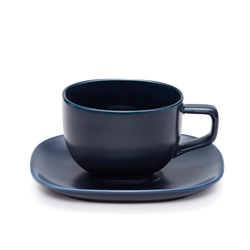 SHADE Tea Cup and Saucer - 300ml - Blue