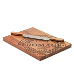 FROMAGE Board With Double Handle Knife