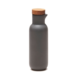 HUDSON Oil and Vinegar Bottles -Set of 2  - Charcoal