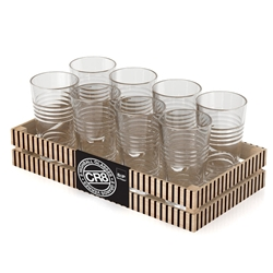 CR8 Highball Glasses - 9 Piece