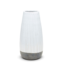 CEREMONY Vase - 40cm - Grey