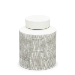 TOWER Jar - 23cm - White