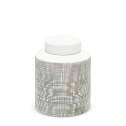 TOWER Jar - 18.5cm - White