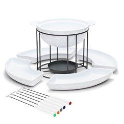 FONDUE Set - White