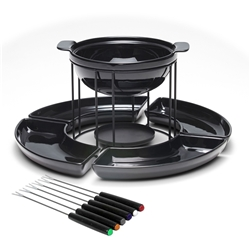 FONDUE Set - Black